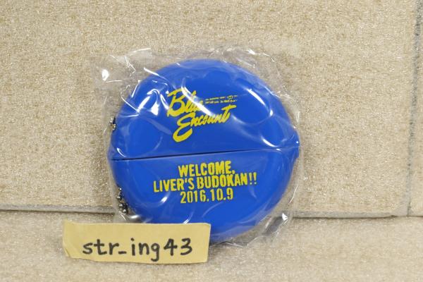 新品 BLUE ENCOUNT LIVER'S 武道館 会場限定 ガチャガチャ コインケース ブルエン グッズ
