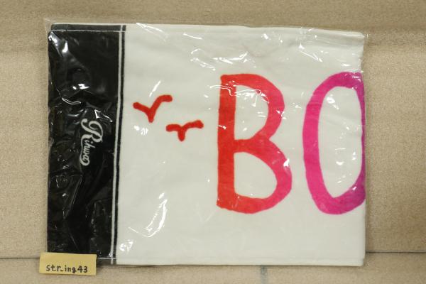 新品 Rihwa BORDERLESS TOUR 2014 タオル グッズ