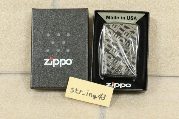 新品 BLUE ENCOUNT Zippo THE END jacket MATTE BLACK マットブラック シリアル【036】 ブルエン グッズ