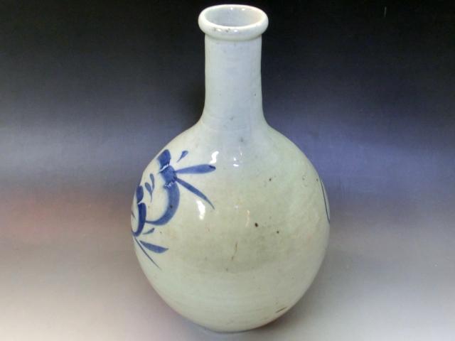 徳利■染付 古伊万里 とっくり 古い酒器 古民具 花瓶 古美術 時代物 骨董品■_画像3