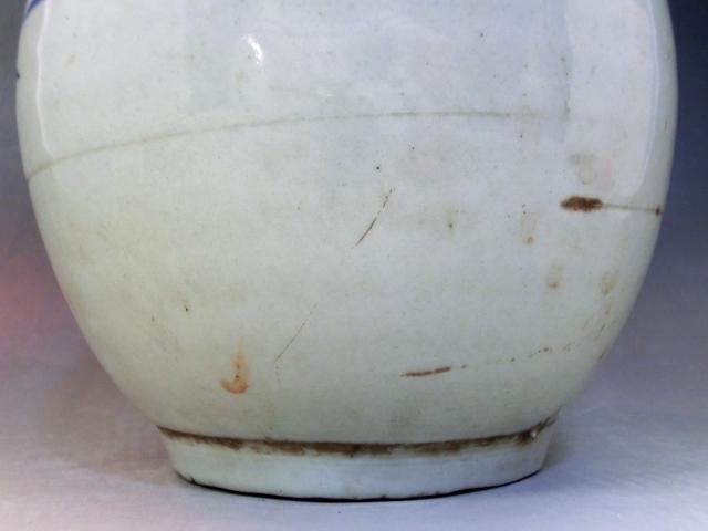 徳利■染付 古伊万里 とっくり 古い酒器 古民具 花瓶 古美術 時代物 骨董品■_画像6