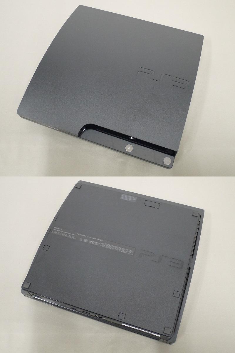 1円~★SONY PS3 (160GB) CECH-2500A 本体 動確済 オマケ付(ジャンクソフト5本) ① (3987)_画像6