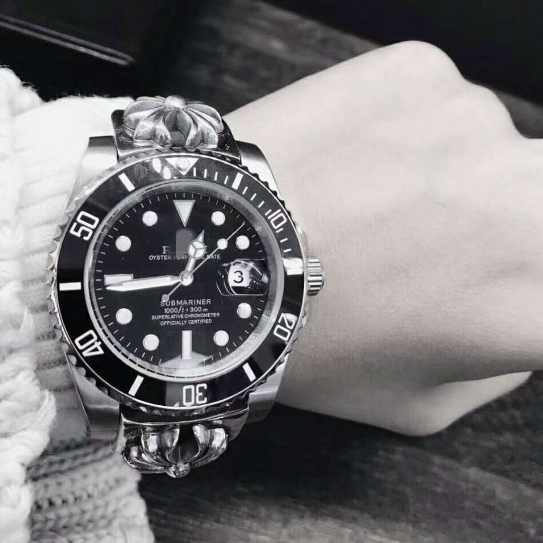 JF製 美品 自動巻き 高品質 1:1 SSS メンズ腕時計 noob製 42mm_画像7