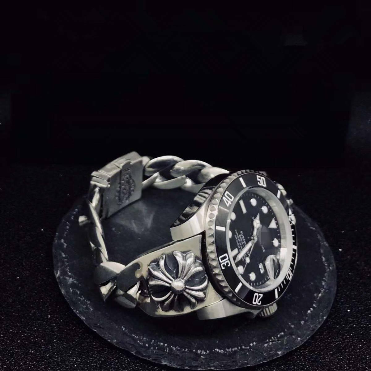 JF製 美品 自動巻き 高品質 1:1 SSS メンズ腕時計 noob製 42mm_画像3