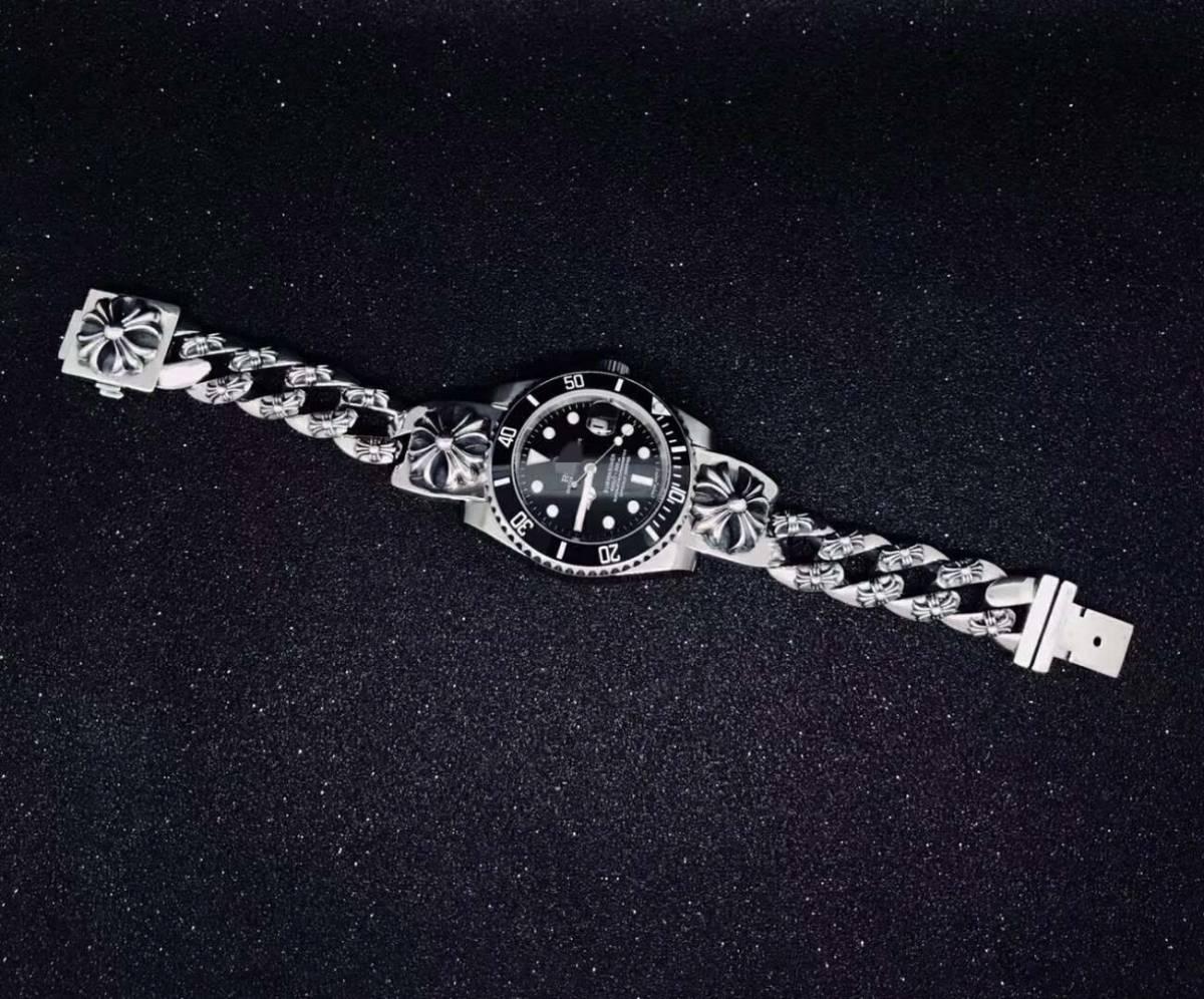 JF製 美品 自動巻き 高品質 1:1 SSS メンズ腕時計 noob製 42mm_画像5
