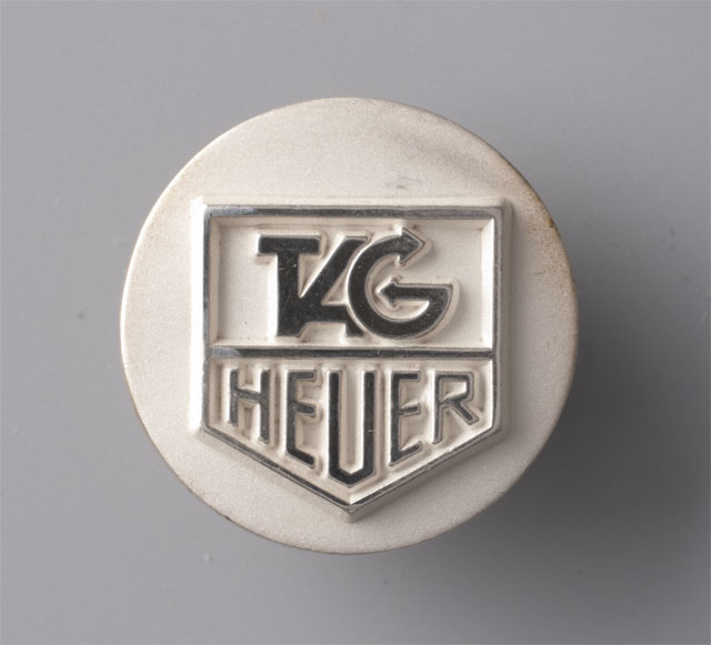 TAG Heuer silver Golf marker unused TAG Heuer Golf Marker