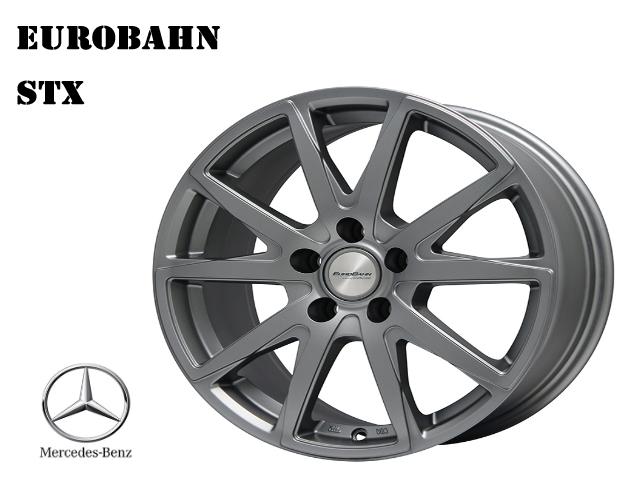 EUROBAHN STX Mercedes Benz ベンツ W169/W176/W245/W246/W205 A/B/C 18インチ スノー ホイール 4本セット スタッドレスタイヤに最適 AMG_画像1