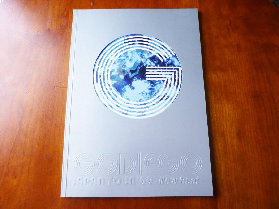 ゴダイゴ パンフ GODIEGO JAPAN TOUR '99 New Beat