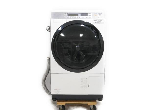 中古 Panasonic NA-VX7300L-W 洗濯機 ドラム式 10.0kg 左開き ドラ洗 斜型 楽直 N2767883