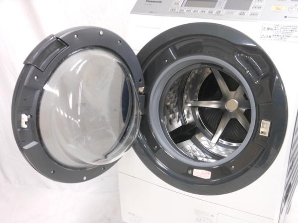 中古 Panasonic NA-VX7300L-W 洗濯機 ドラム式 10.0kg 左開き ドラ洗 斜型 楽直 N2767883_画像4