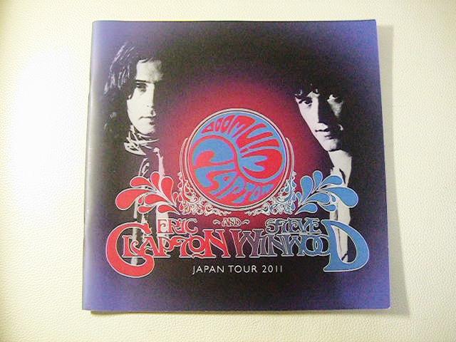 ERIC CLAPTON & Steve Winwood JAPAN TOUR 2011 パンフレット