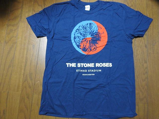 新品 ストーンローゼス マンチェスター イベント Tシャツ 公式ツアーグッズ 2017 THE STONE ROSES