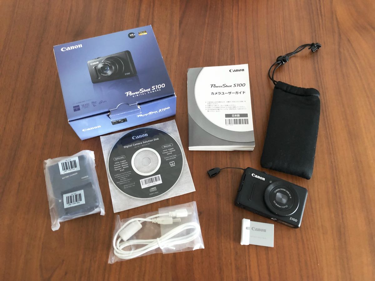 【美品】キャノン Canon PowerShot パワーショット S100