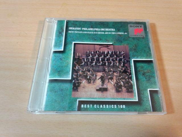 CD「トッカータとフーガ オーケストラ名曲集・オーマンディ」●_画像1