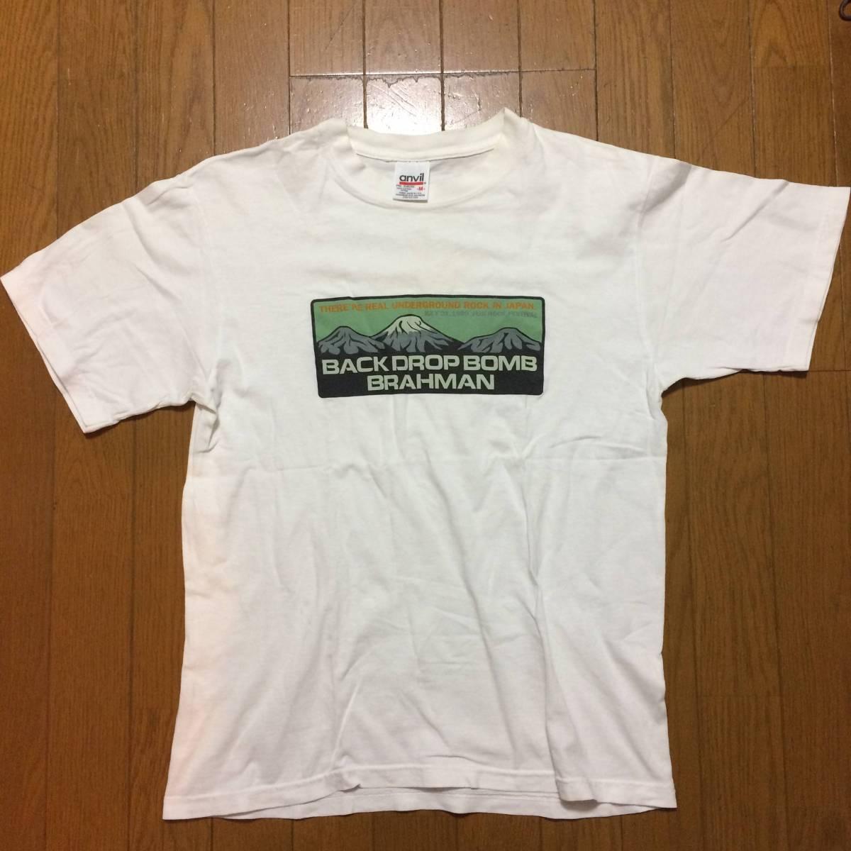 1999年 ビンテージ FUJI ROCK FESTIVAL フジロック フェスティバル BACK DROP BOMB バック ドロップ ボム BRAHMAN ブラフマン Tシャツ M
