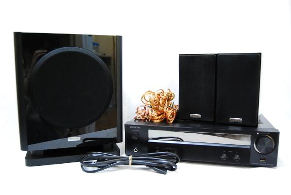送料無料 ONKYO オンキョー 5.1ch対応 ホームシアターシステム ネットワークAVレシーバー NR-365 スピーカー AVレシーバー SWA-V50 ST-V50