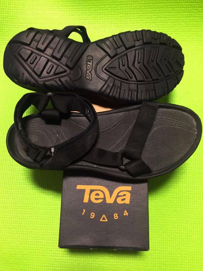 新品 Teva HURRICANE XLT US11 29cm ハリケーン サンダル テバ メンズ 箱 付属 黒 ブラック
