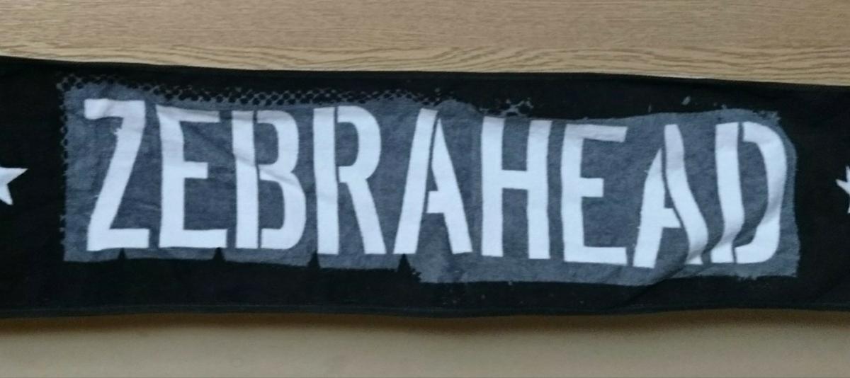 ZEBRAHEAD タオル 美品 ゼブラヘッド