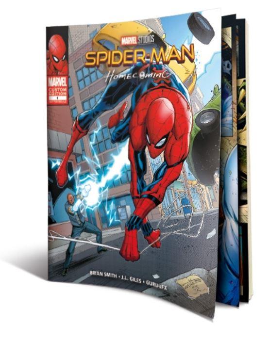 未開封新品レア完売スパイダーマンホームカミングプレミアムBOX2D+3D+4K ULTRA HDブルーレイ村田雄介描き下ろし日本限定B3ポスター封入限定_画像7