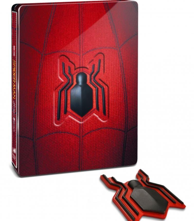 未開封新品レア完売スパイダーマンホームカミングプレミアムBOX2D+3D+4K ULTRA HDブルーレイ村田雄介描き下ろし日本限定B3ポスター封入限定_画像6