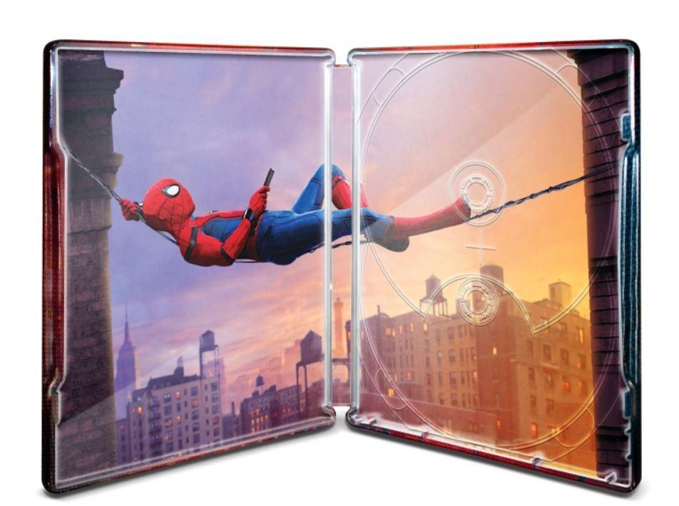 未開封新品レア完売スパイダーマンホームカミングプレミアムBOX2D+3D+4K ULTRA HDブルーレイ村田雄介描き下ろし日本限定B3ポスター封入限定_画像5