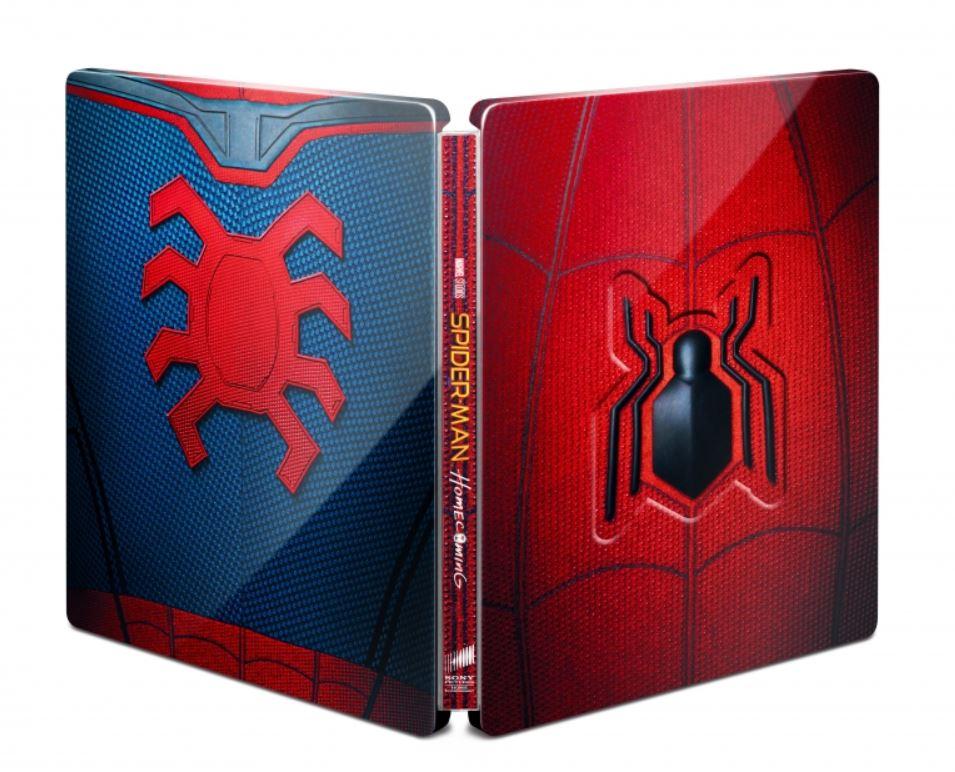 未開封新品レア完売スパイダーマンホームカミングプレミアムBOX2D+3D+4K ULTRA HDブルーレイ村田雄介描き下ろし日本限定B3ポスター封入限定_画像4