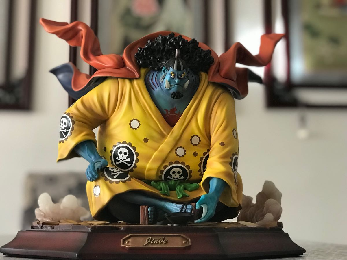 ワンピース フィギュア 二年後 ジンベイ 王下七武海・2年後ジンベエ 限定 検索POP 改造リペイント