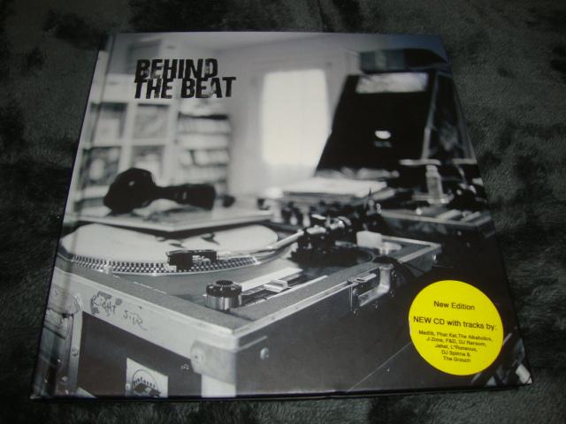■即決■BEHIND THE BEAT CD付き スタジオ写真集■J-DILLA/MADLIB/DJ PREMIER/DJ SPINNA/DJ SHADOW■