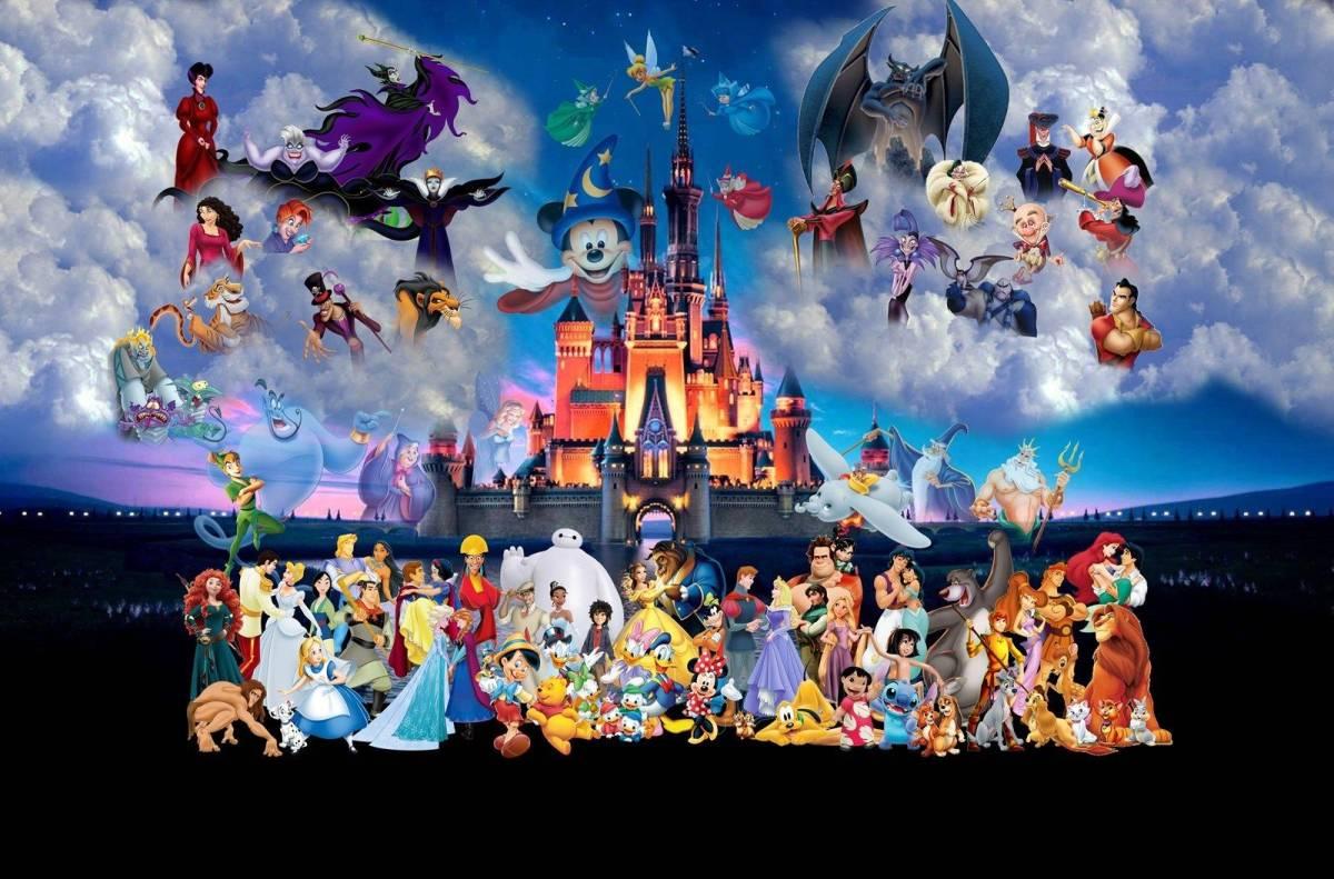 トーマス・キンケード kingdom ディズニー キャンバスに油彩系の複製_画像1