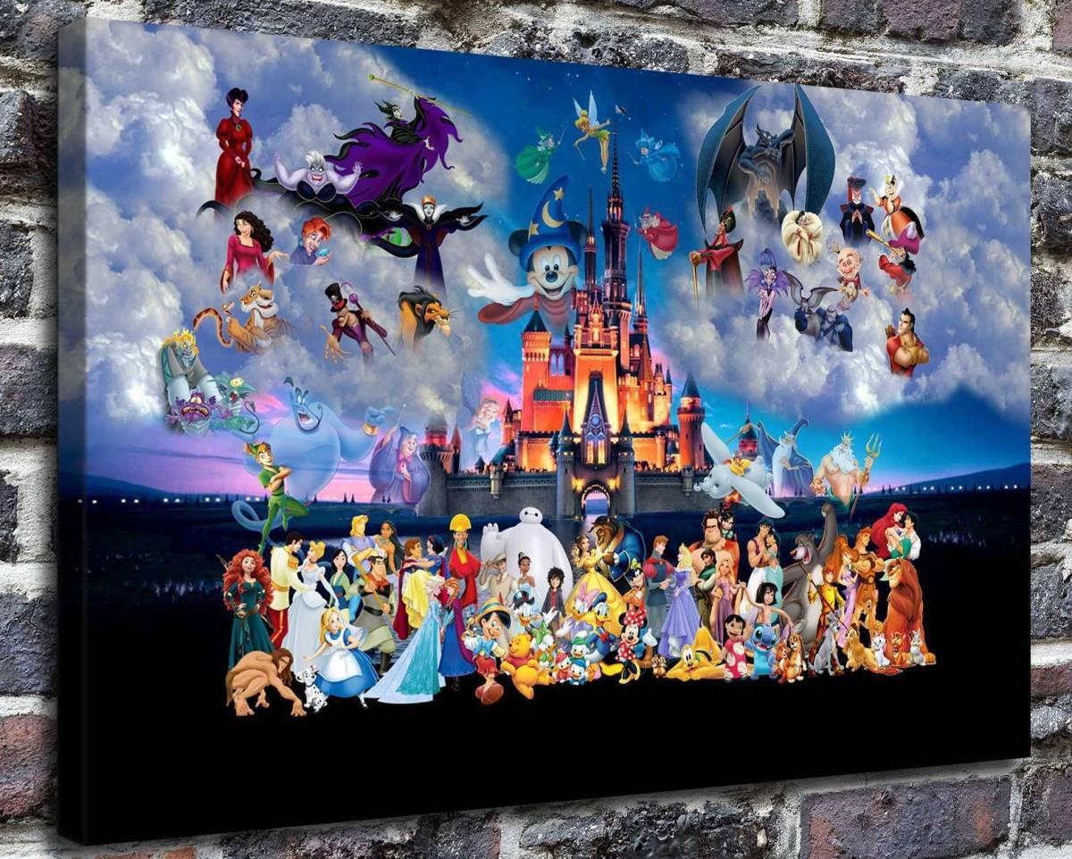 トーマス・キンケード kingdom ディズニー キャンバスに油彩系の複製_画像2
