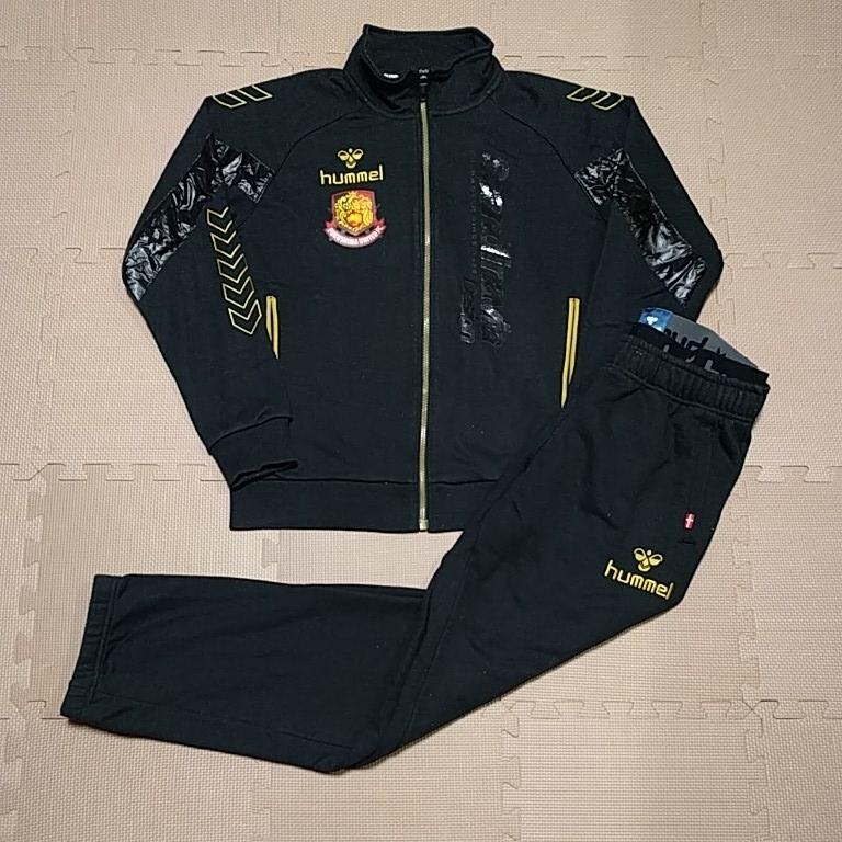2014 福島ユナイテッドFC スタッフ・選手着用移動ウェア サイズO hummel