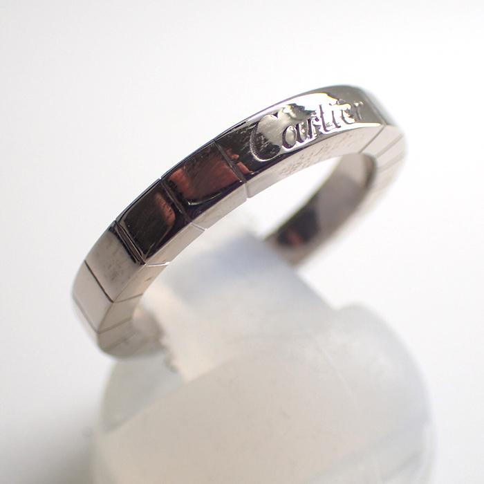 【Cartier(カルティエ)】ラニエールリング K18WG 750 10号 クリスマスプレゼントに