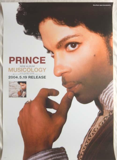 プリンス(Prince) 「Musicology」 告知ポスター