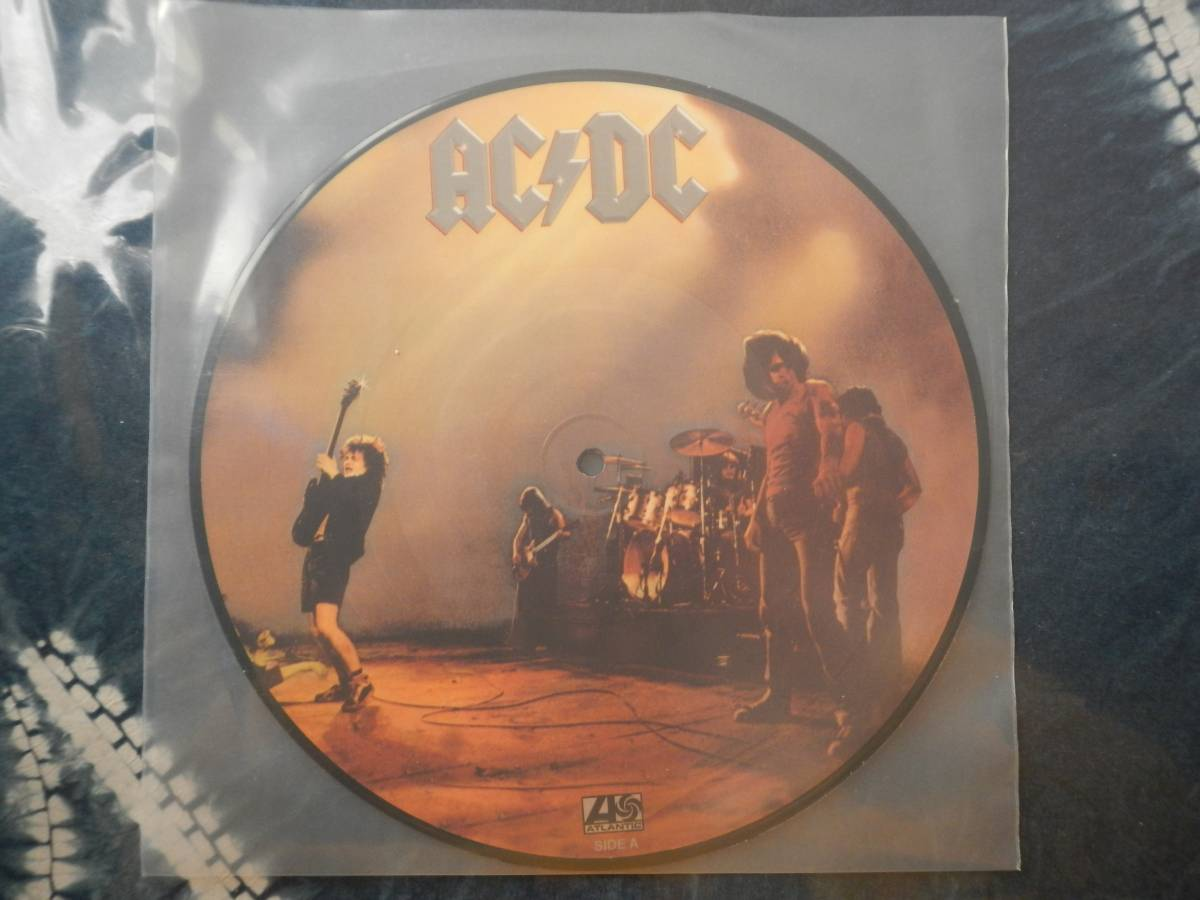 【10】ACDC(DJ10K11018LET THERE BE LOCK欧州製100枚限定ピクチャー盤未使用品)_画像1