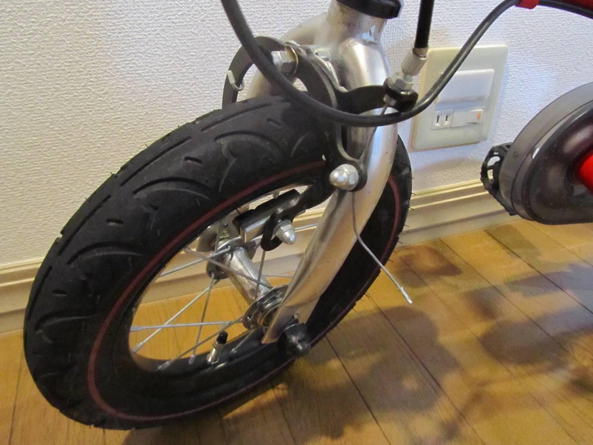 子供用自転車 へんしんバイク 赤色 バランスバイク_画像3
