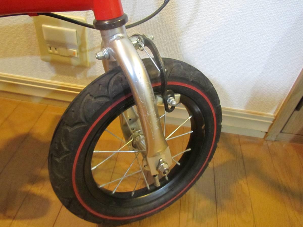 子供用自転車 へんしんバイク 赤色 バランスバイク_画像9