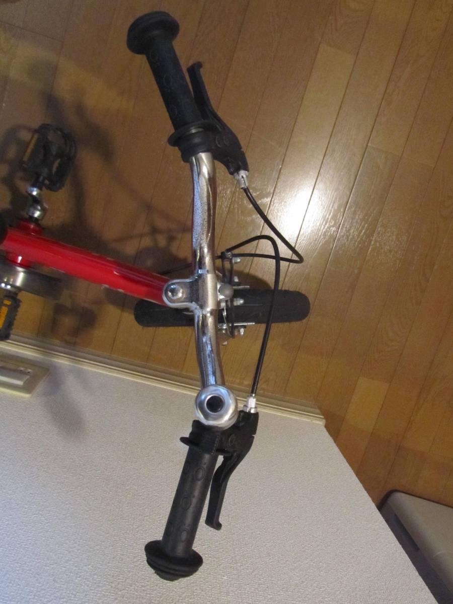 子供用自転車 へんしんバイク 赤色 バランスバイク_画像5
