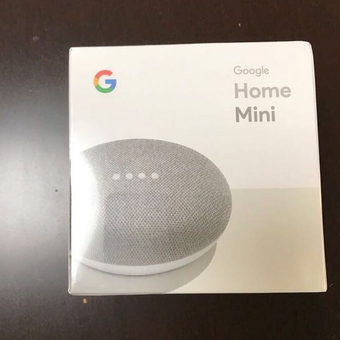 超話題! グーグル ホーム ミニ Google Home Mini チョーク AIスピーカー 出品 未使用 未開封