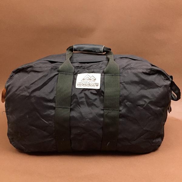 ●グレゴリー 80's茶タグ 今季トレンド ボストンバッグ 黒ブラック Mサイズ 90's L08