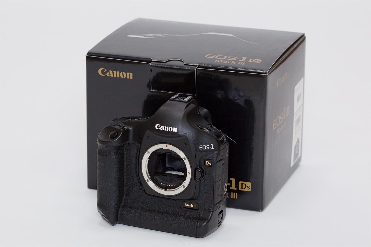 ☆美品☆ canon キャノン EOS-1Ds Mark Ⅲ 3 ボディ 付属品元箱有