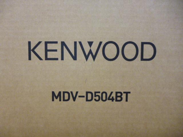 1円売切! KENWOOD【MDV-D504BT】地デジフルセグ 彩速ナビ ケンウッド