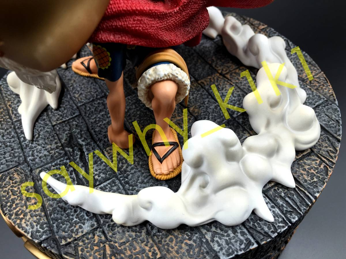 ワンピース フィギュア 剣闘士 ルーシー / ルフィ 検索 一品物 改造 リペイント POP 限定_画像6