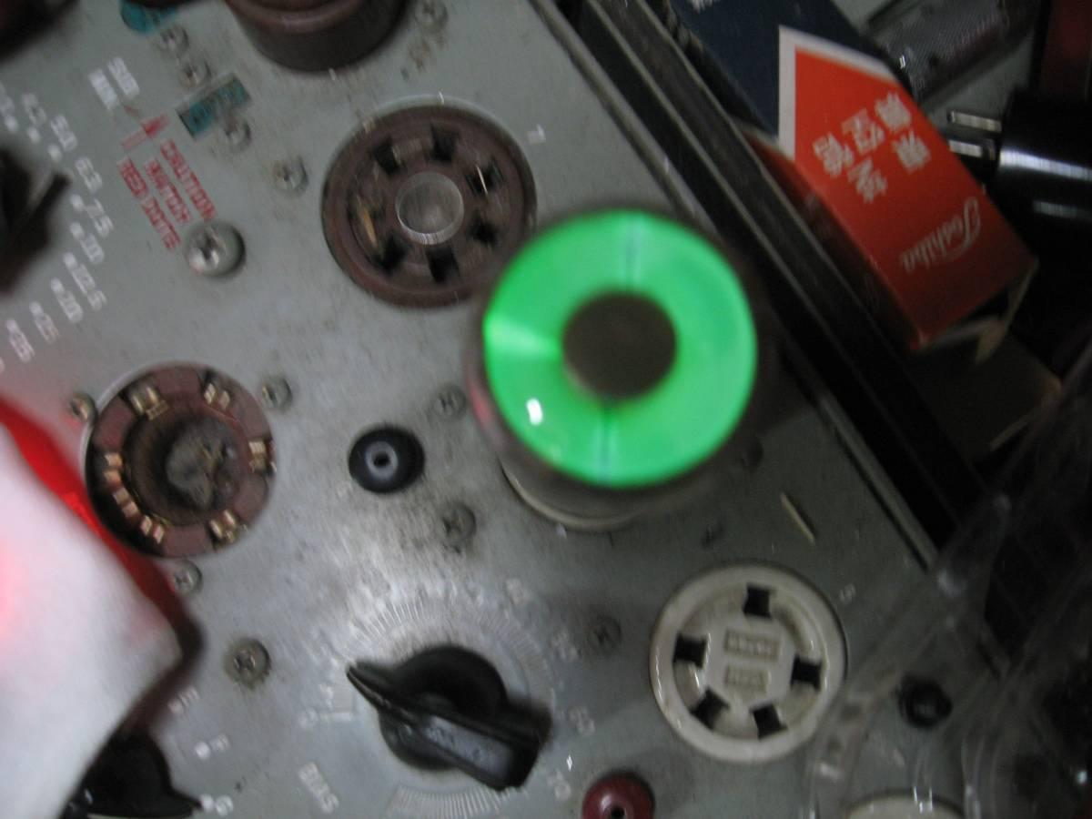 ☆ジャンク品、トーヨー(TOYO)の 真空管(マジックアイ) 6E5_画像2
