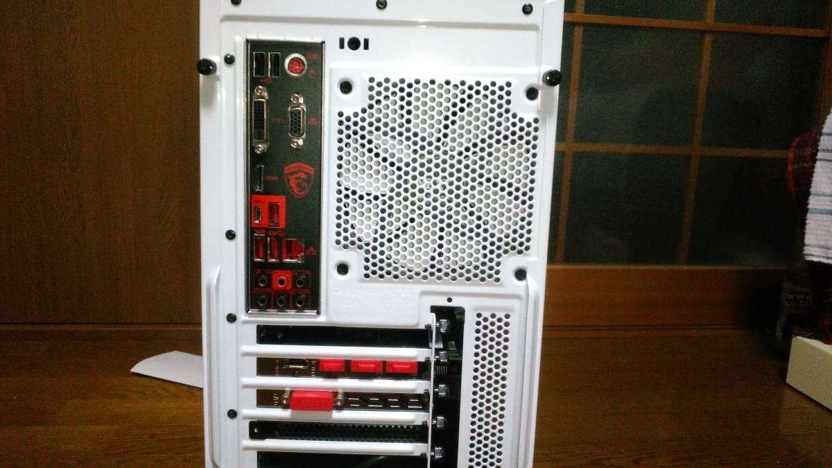 自作ゲーミングPC Ryzen 7 1700 RADEON RX480 DDR4 2400 16G SSD480G_画像3