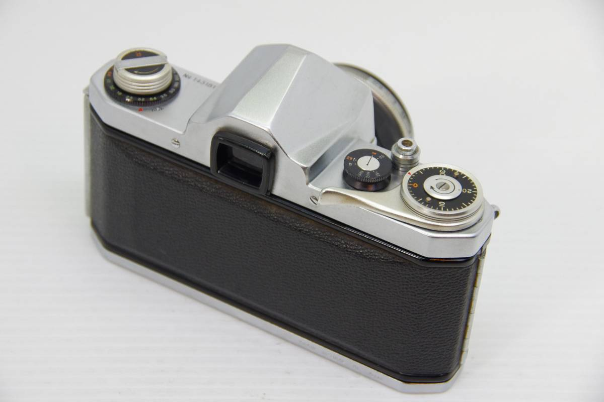 ★ジャンク★旭光学工業 アサヒ ペンタックス 初期モデル AP + Takumar 1:2 f=58mm_画像3