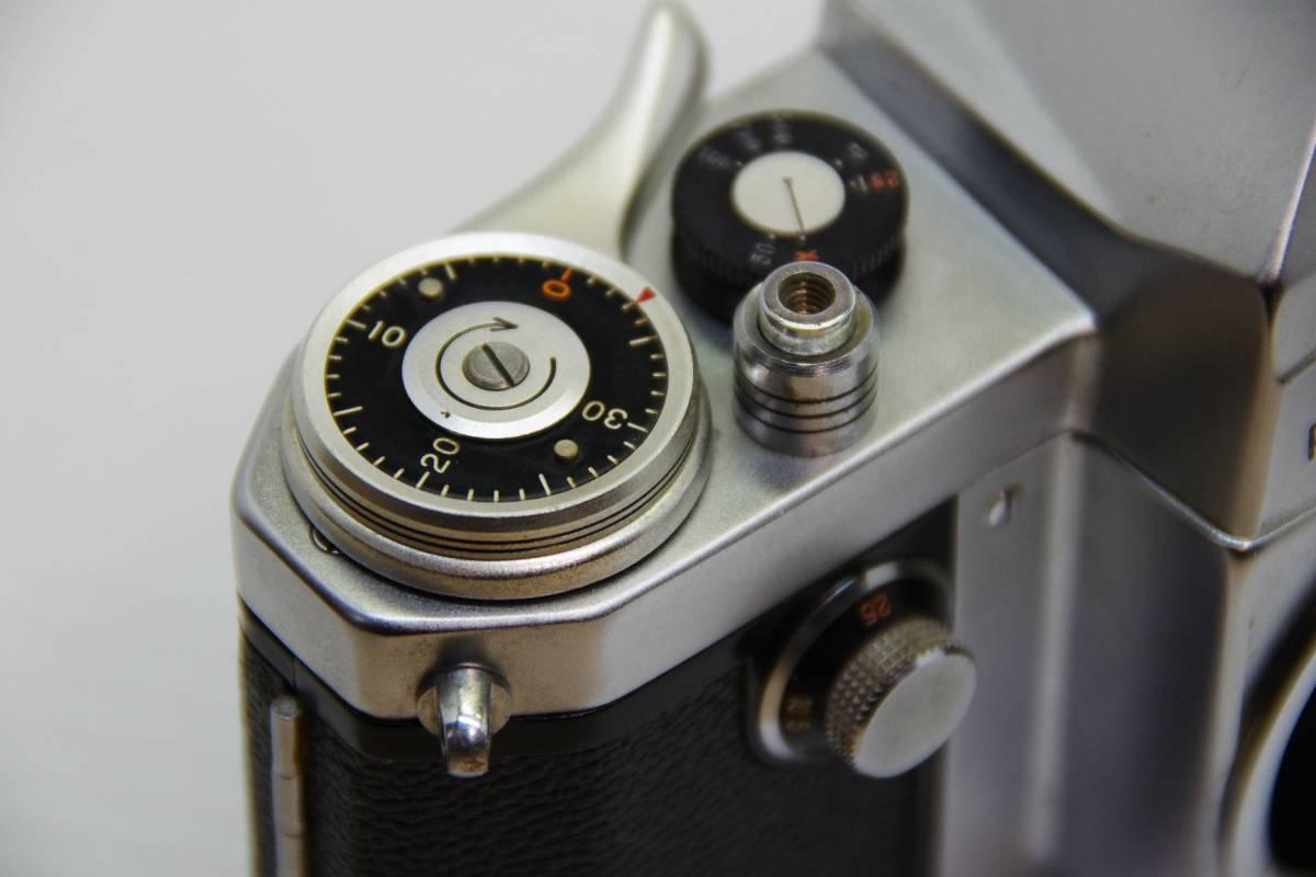★ジャンク★旭光学工業 アサヒ ペンタックス 初期モデル AP + Takumar 1:2 f=58mm_画像7