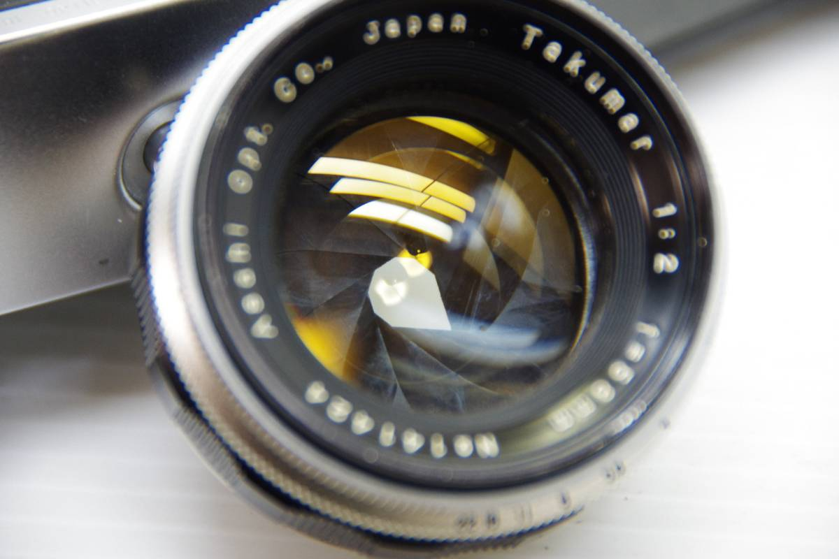 ★ジャンク★旭光学工業 アサヒ ペンタックス 初期モデル AP + Takumar 1:2 f=58mm_画像8