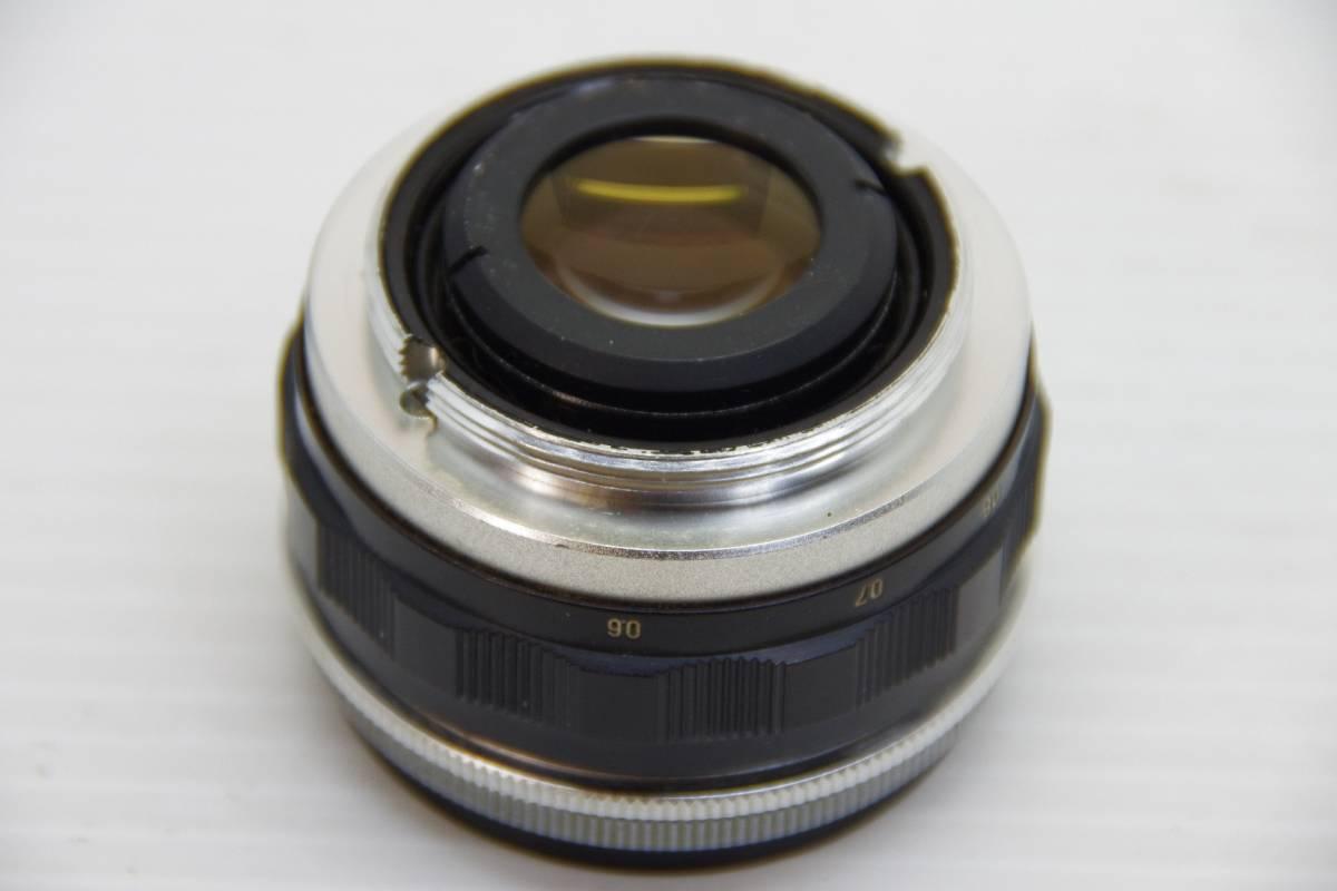 ★ジャンク★旭光学工業 アサヒ ペンタックス 初期モデル AP + Takumar 1:2 f=58mm_画像9