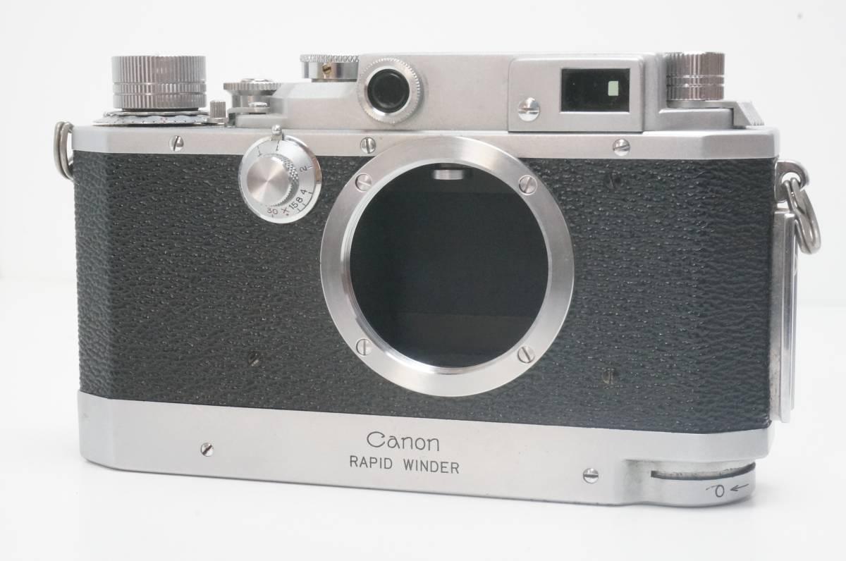 Canon ⅣSB ラビットワインダー付 ライカ L39マウント