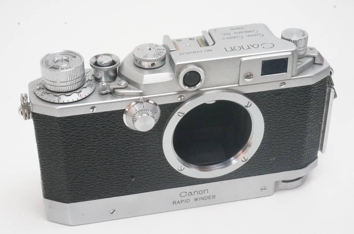 Canon ⅣSB ラビットワインダー付 ライカ L39マウント _画像2